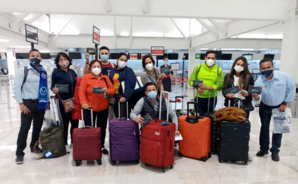 Air France reinicia transportación de viajeros en grupo