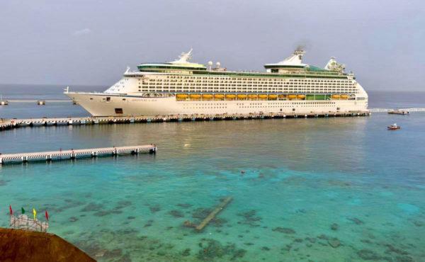 Arriba a Cozumel primer crucero tras pandemia